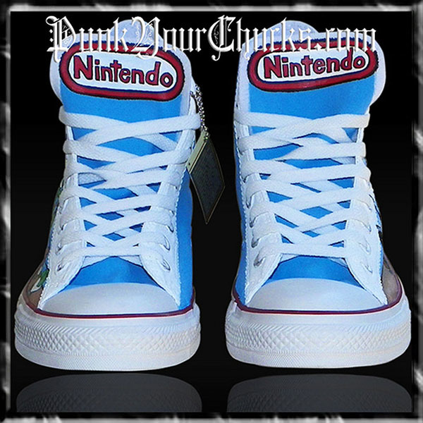 Nintendo high Chucks tongue