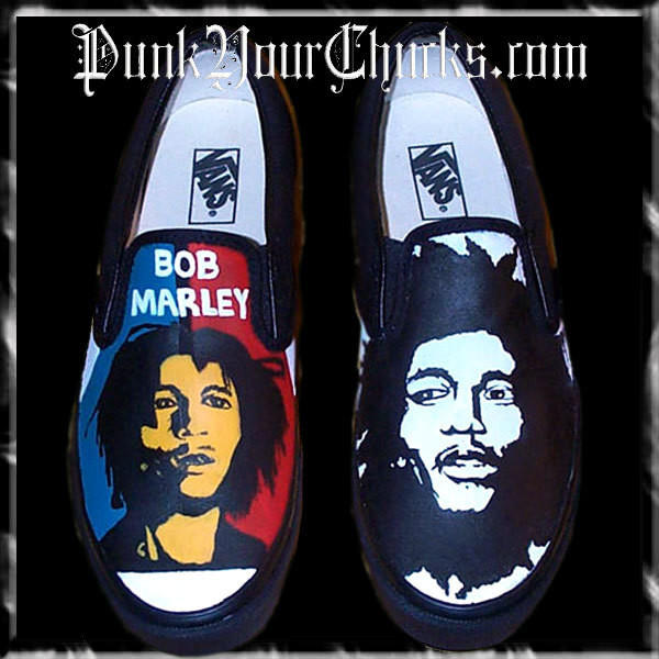 Bob Marley Vans