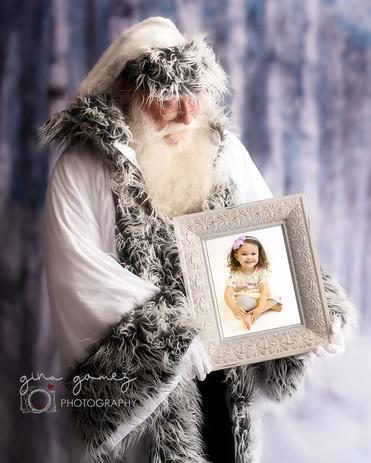 Christmas White Santa