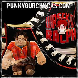 Wreck It Ralph High Chucks MAIN
