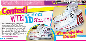 One Direction Converse Sneakers