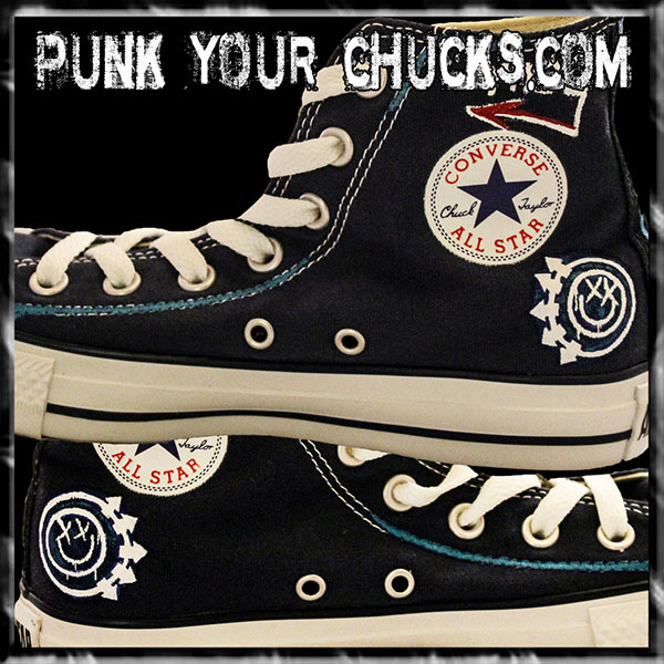 Blink 182 High Chucks insides