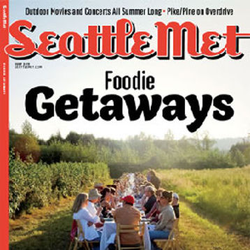 "SEATTLE MET MAGAZINE – ""Foodie Getaways"", July, 2011"