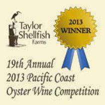 OYSTERWINE.COM - West Coast Oyster Wine Winner, April, 2013