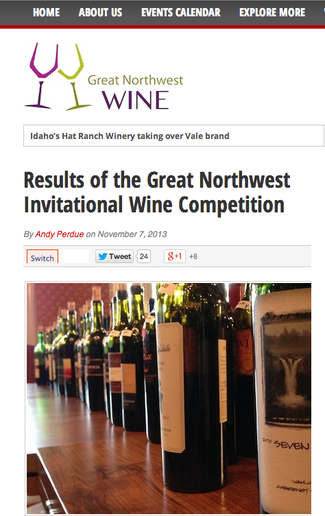 Cedergreen Cellars 2008 Merlot Takes Siver at the Great Northwest Invitational Wine Competition!