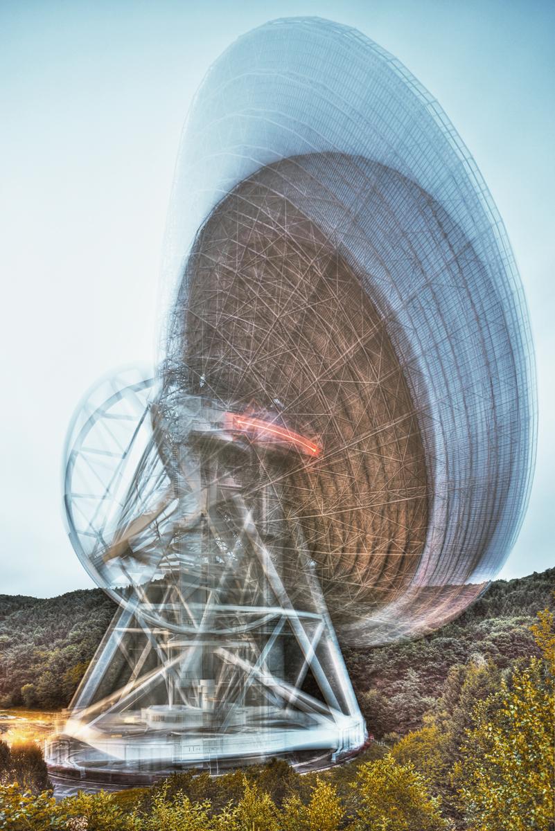 radio telescope / effelsberg