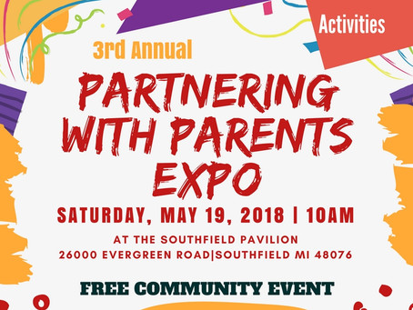 Partnering for Parents Expo 2018