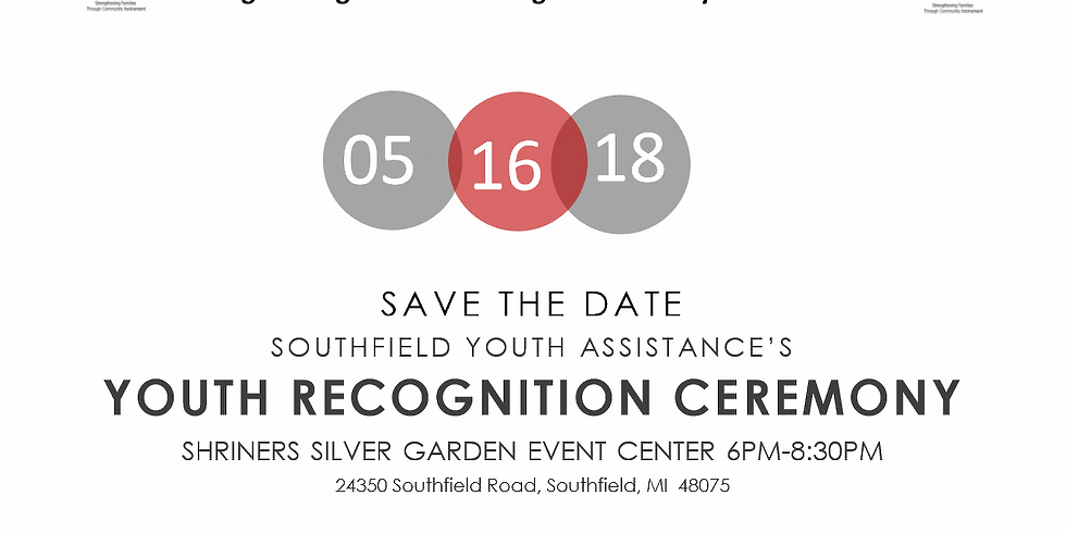 Southfield Youth Assistance Youth Recognition Awards Ceremony