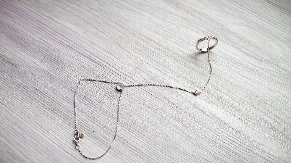 Кольцо браслет