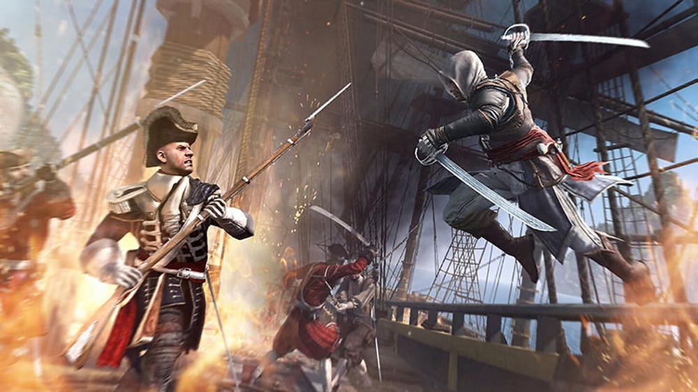 Assassin's Creed IV - Ship Boarding
