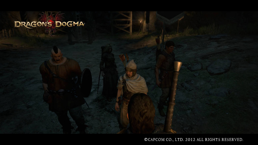 Dragon's Dogma - The Party Assembled
