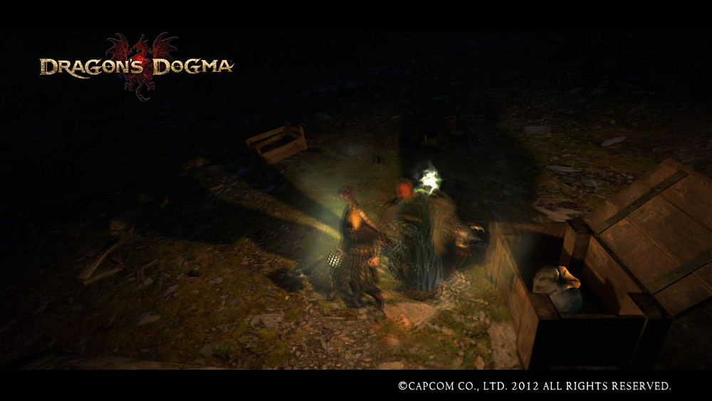 Dragon's Dogma - Opening Chests