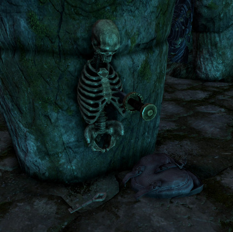 Lokir's Tomb -  Skeleton