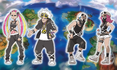 Pokemon Moon - Team Skull