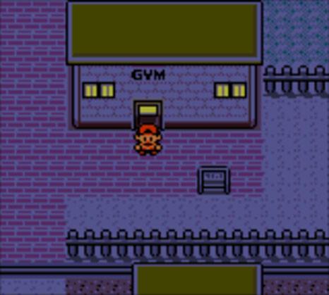 Pokemon Crystal - Goldenrod City