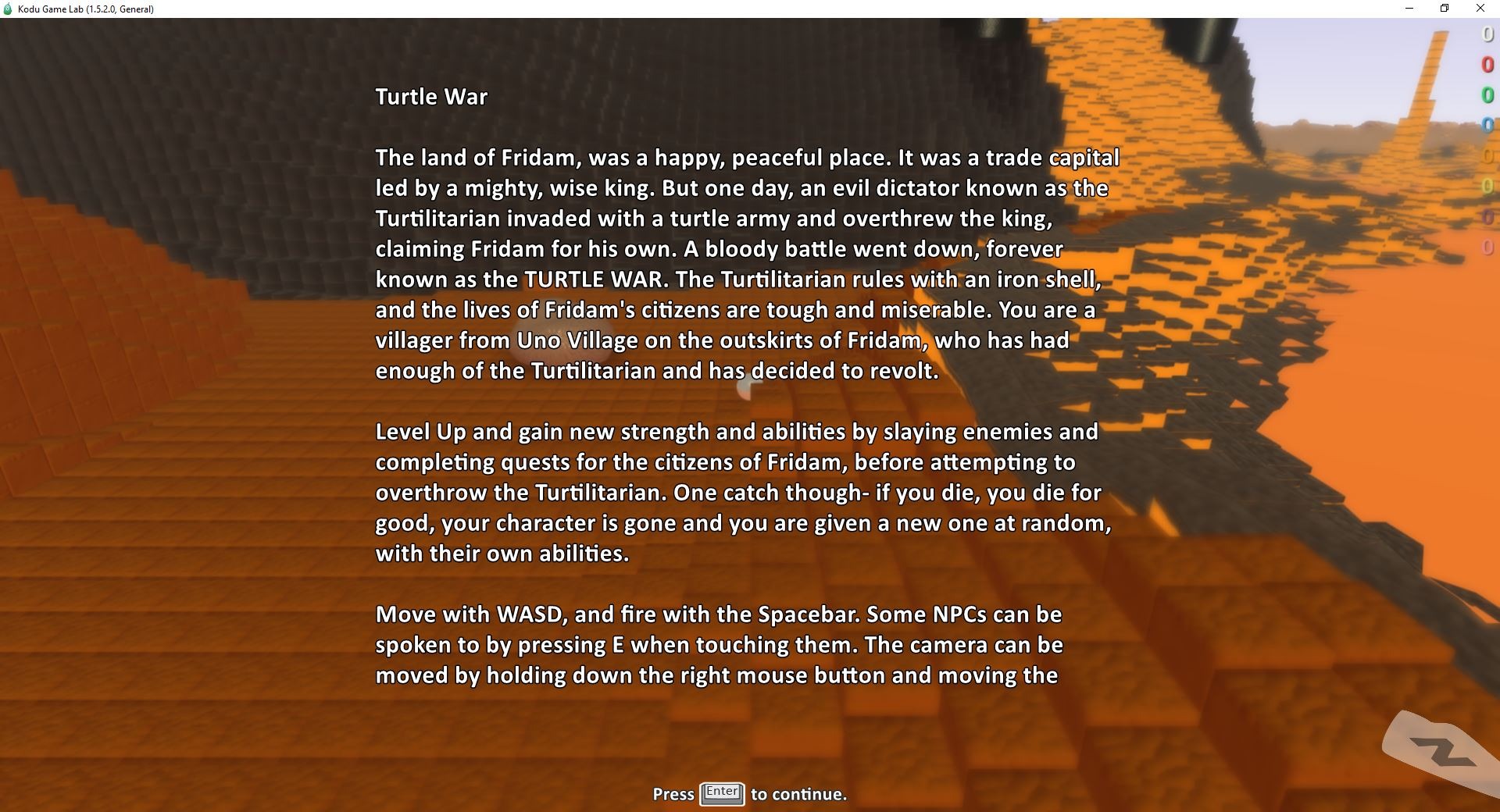 Turtle War Intro