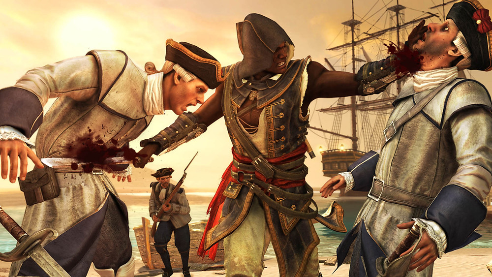 Assassin's Creed: Freedom Cry - Double Assassination