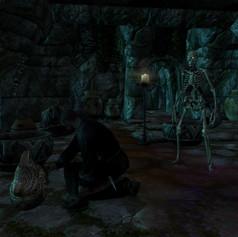 Lokir's Tomb - A necromance looting
