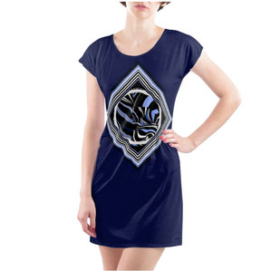 923609_tunic-dress-in-cotton-with-logo-c