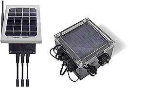 External and Internal solar panel