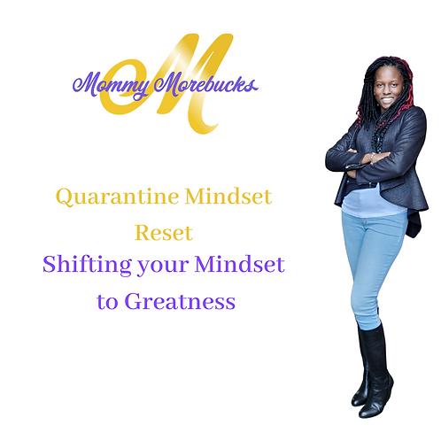 Quarantine Mindset Reset:   E-book Bundle