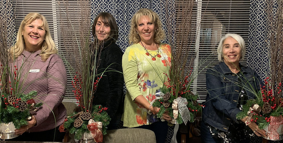Natural and Dried Floral Class