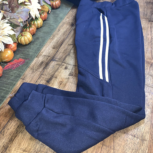 Navy Blue Sweat Pant Joggers