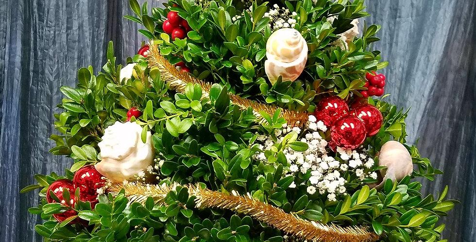 Seaside Boxwood Christmas Tree