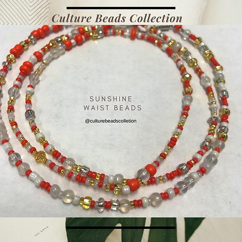 Sunshine Goddess Waist Beads
