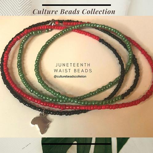 Juneteenth Waist Beads