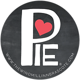 Windmill Love Pie Logo