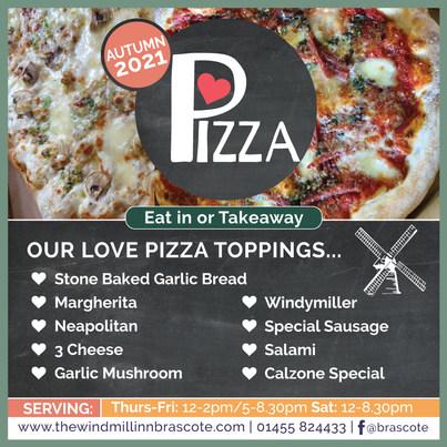 Windmill Inn Love Pizza