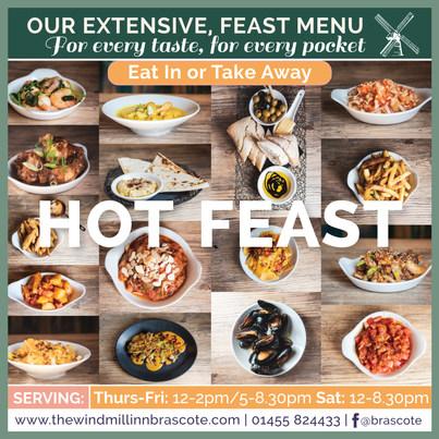 Hot Feast Eat in or Take Away