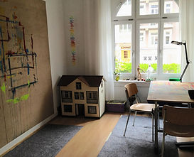 Atelier in Zürich Freise Spiel im Atelier