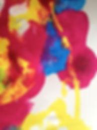 Poesie in Wort und Farbe, peroenlicher Prozess