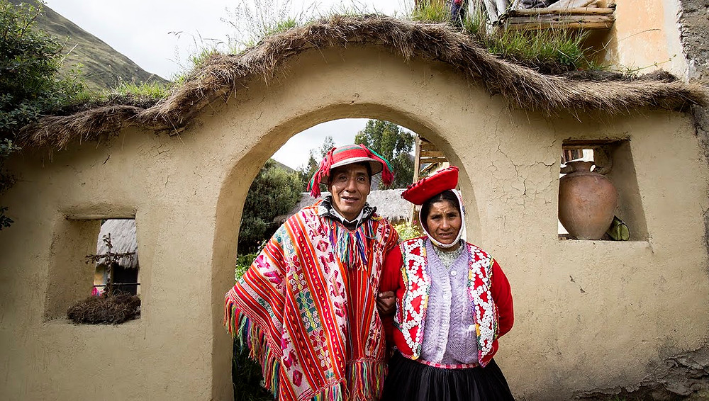 Traditional textile weavers in PEru