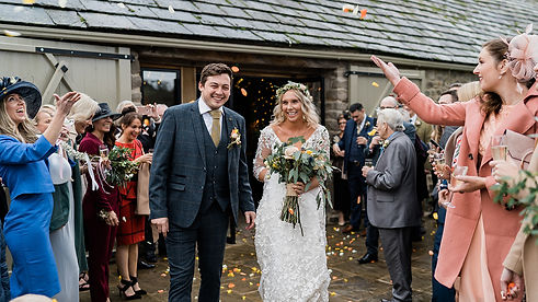 Wedding Photographer at the Tithe Barn, Bolton Abbey