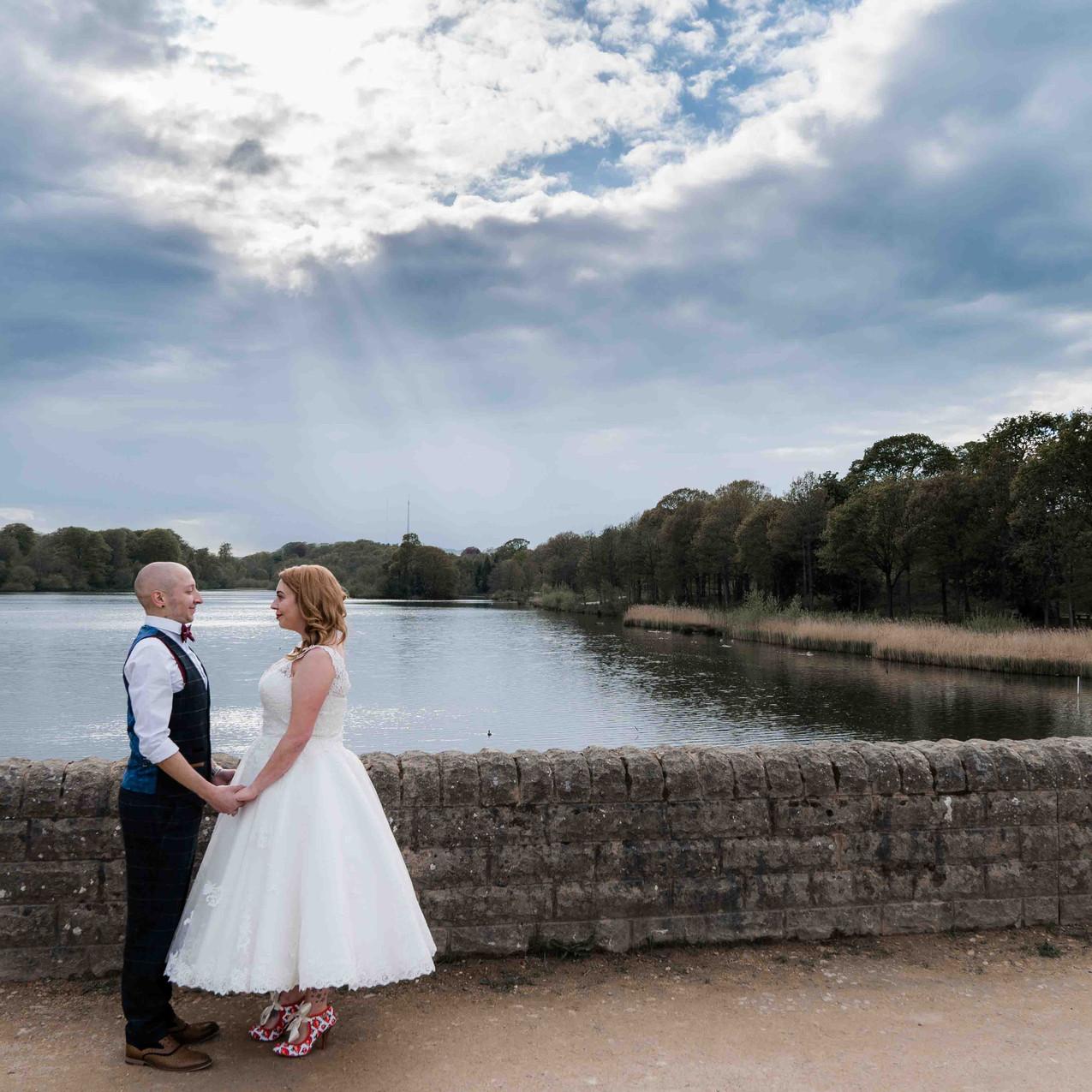 Creative wedding photographs