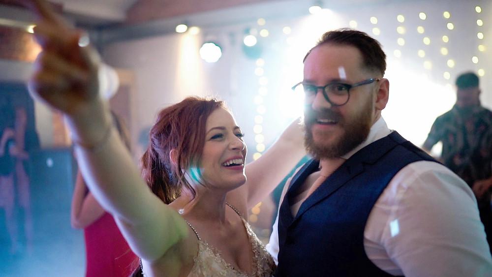 New Craven Hall wedding videographer