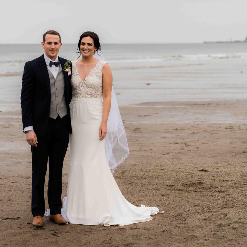 Sandsend wedding photo