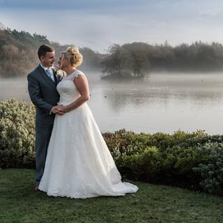 Boho wedding photo near leeds