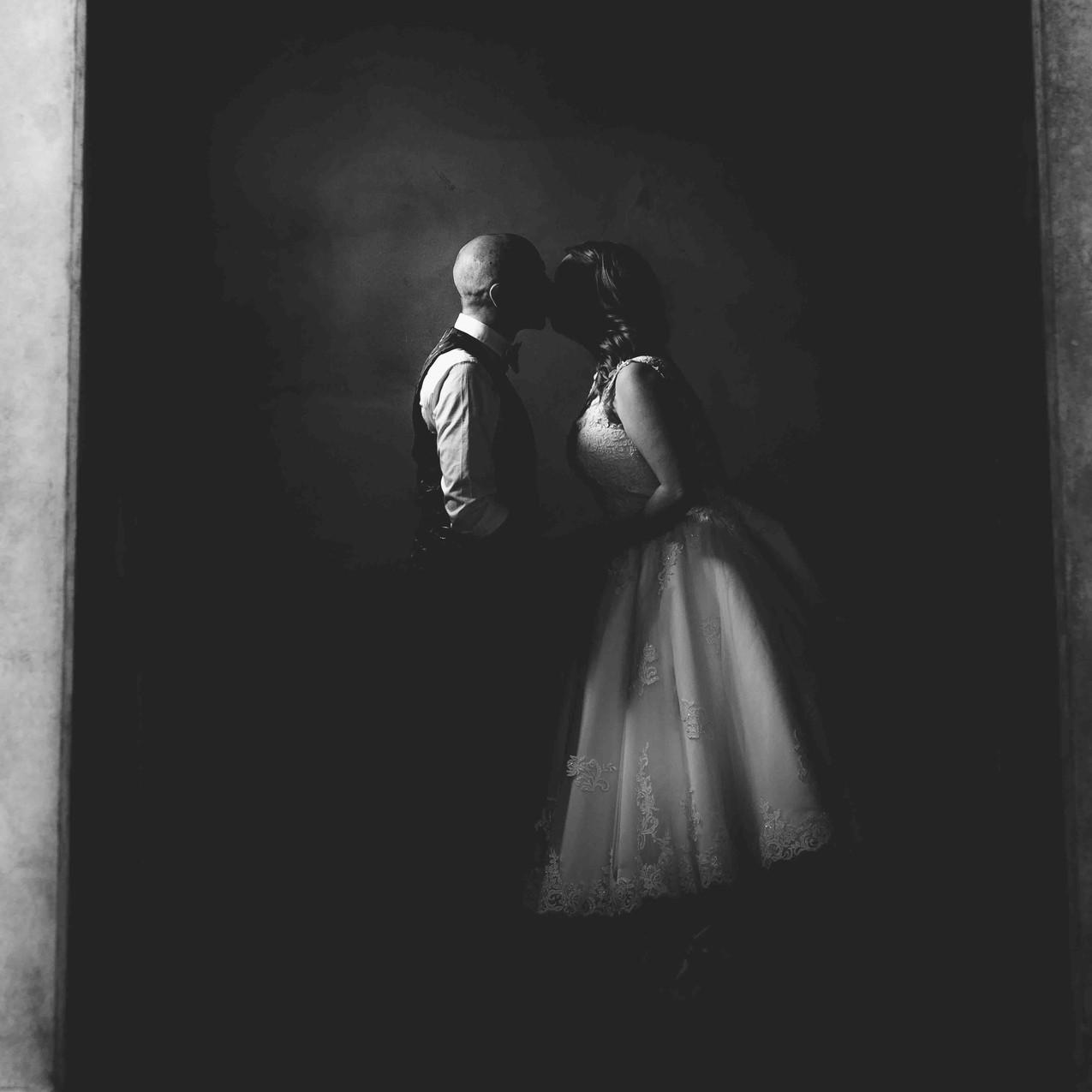 Creative wedding portraiture