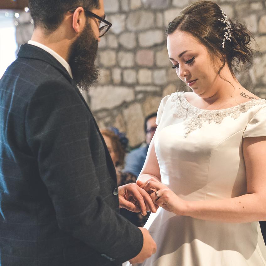Exchange of the wedding rings