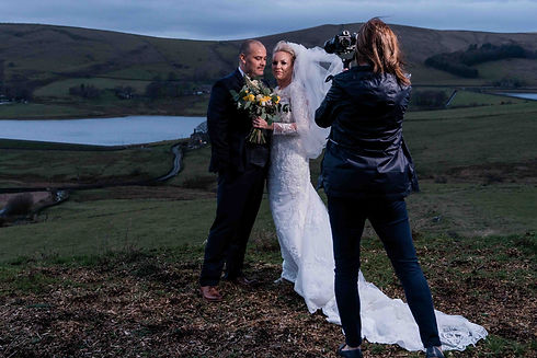 Adventurous wedding videography