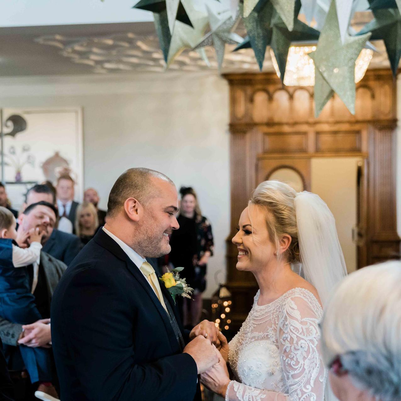 Saddleworth Hotel wedding ceremony
