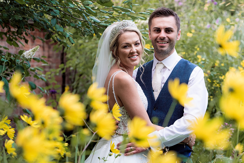 Wedding photo at The Parsonage Hotel, York