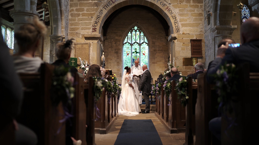 Hackness Grange wedding photography and videography