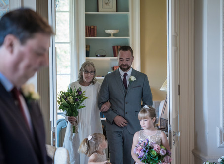 Love with a view | Janet and Mark's wedding photographs at the Laura Ashley Hotel, Bowness on Wi