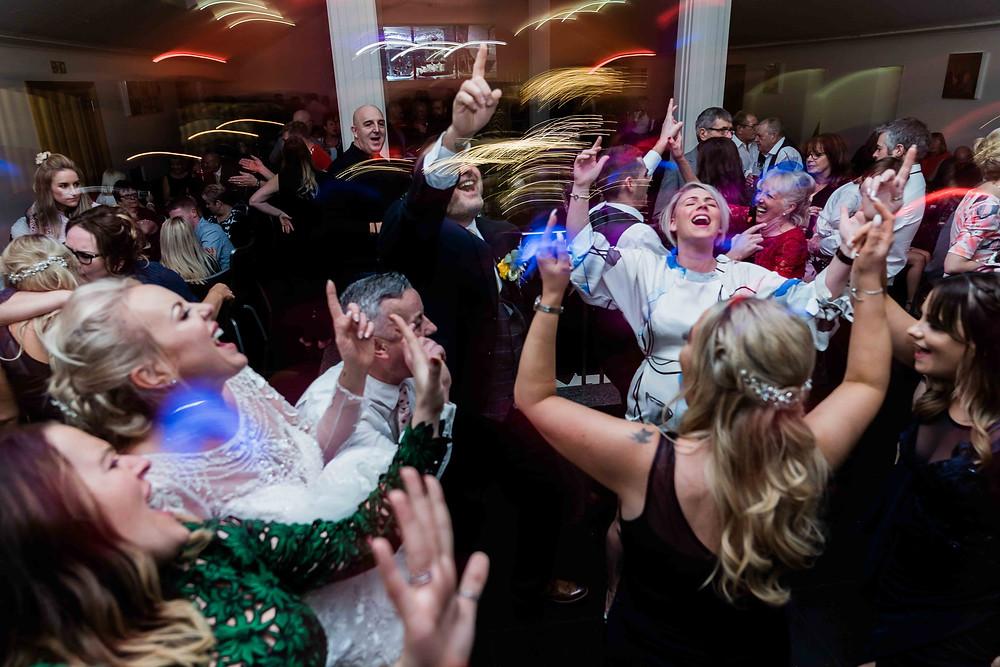 Wedding Party Photography at The Saddleworth Hotel