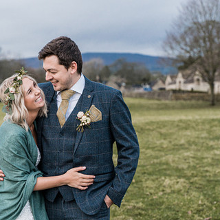 Tithe Barn wedding photographer at Bolton Abbey